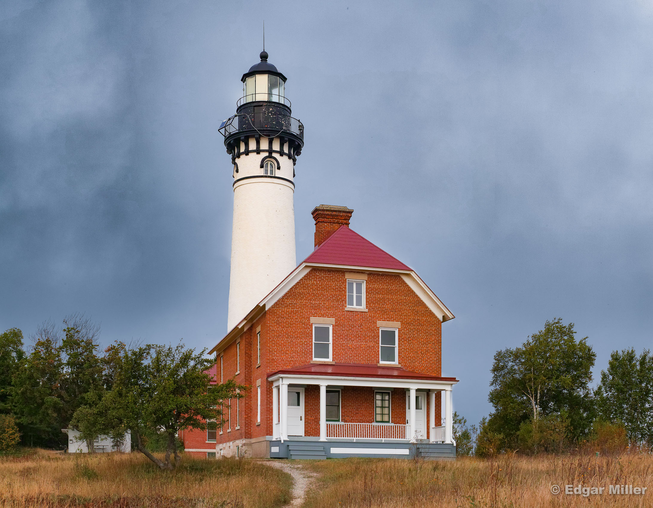 Au Sable Light House, Upper Peninsula, Michigan