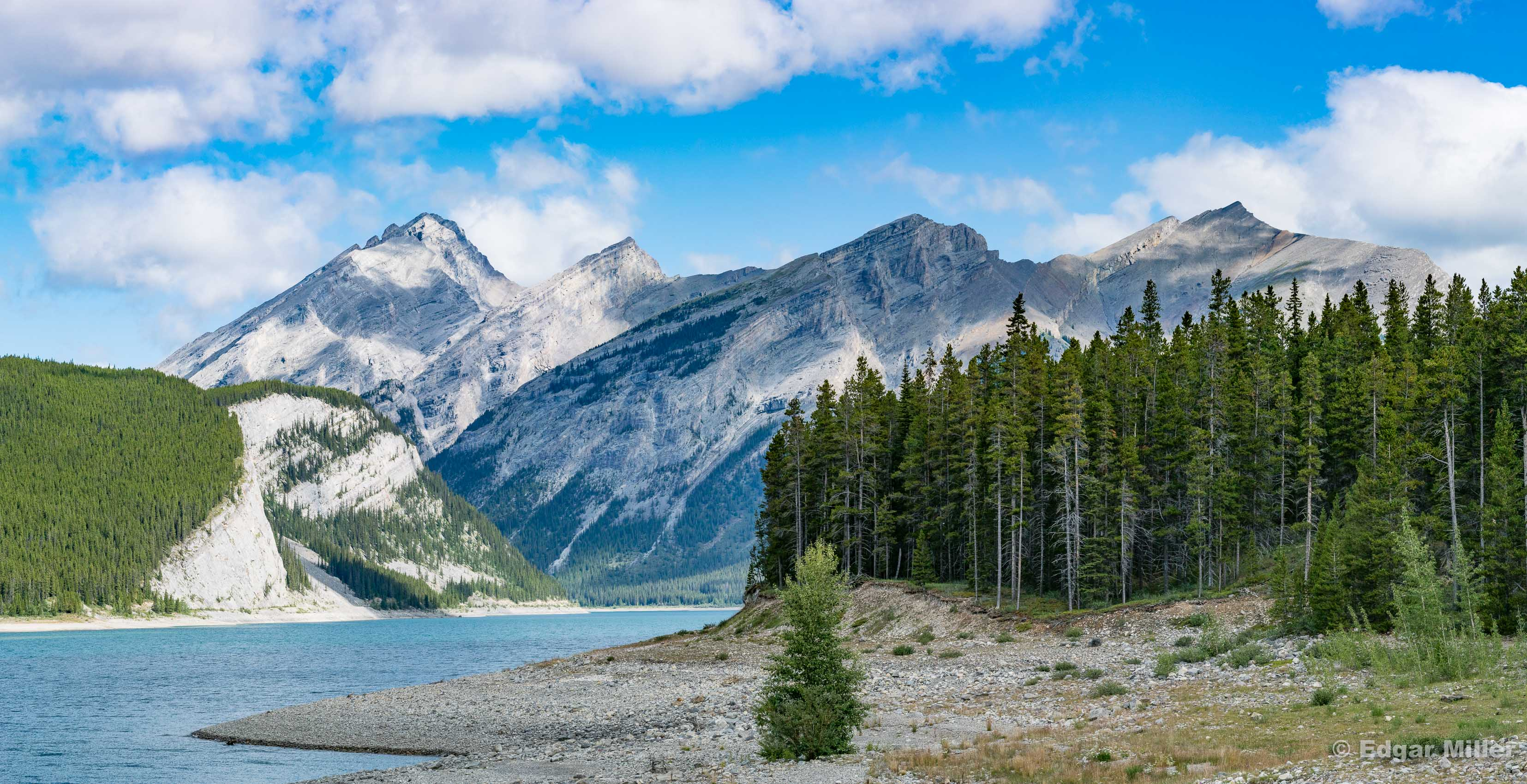 Spray Lakes Panorama, Kananaskis, Canada