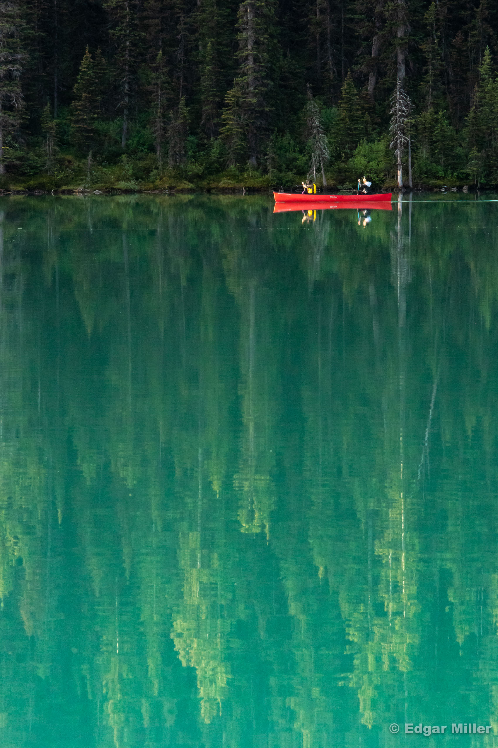 Red Canoe, Lake Louise