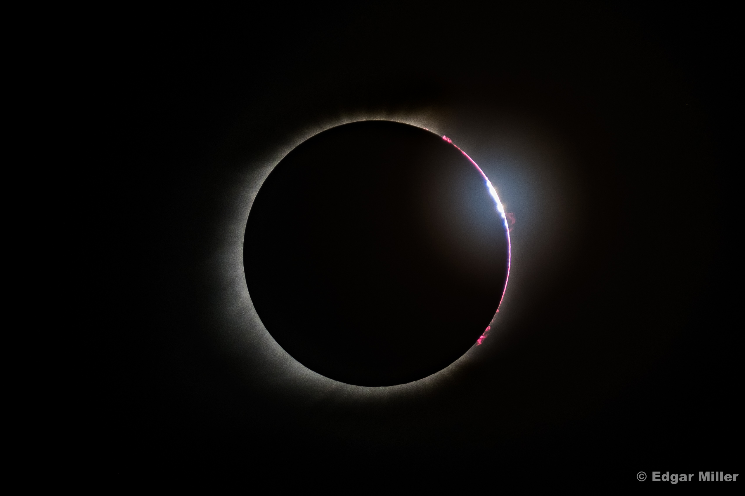 Third Contact, Solar Eclipse 2017