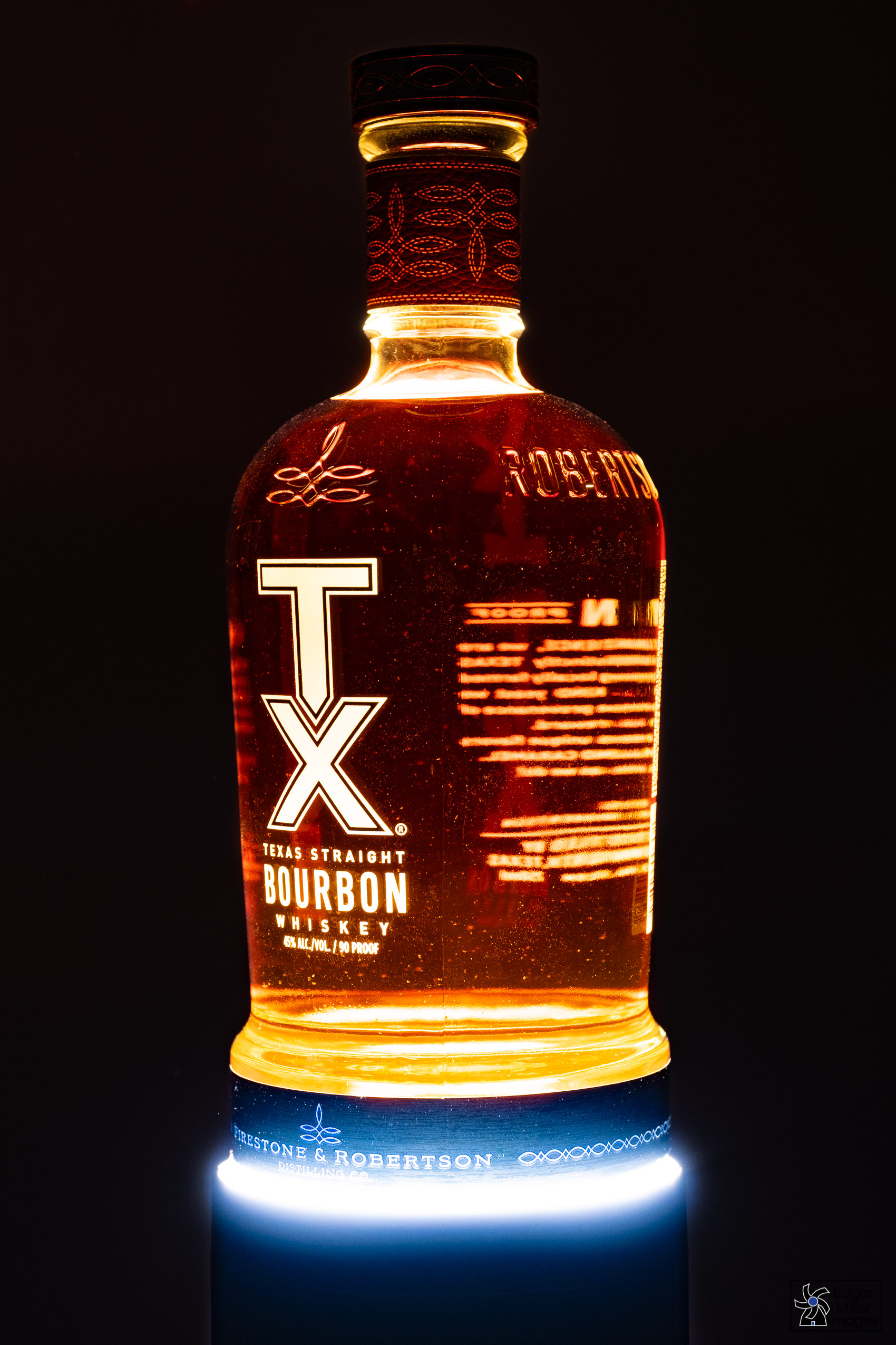TX Bourbon Night Light