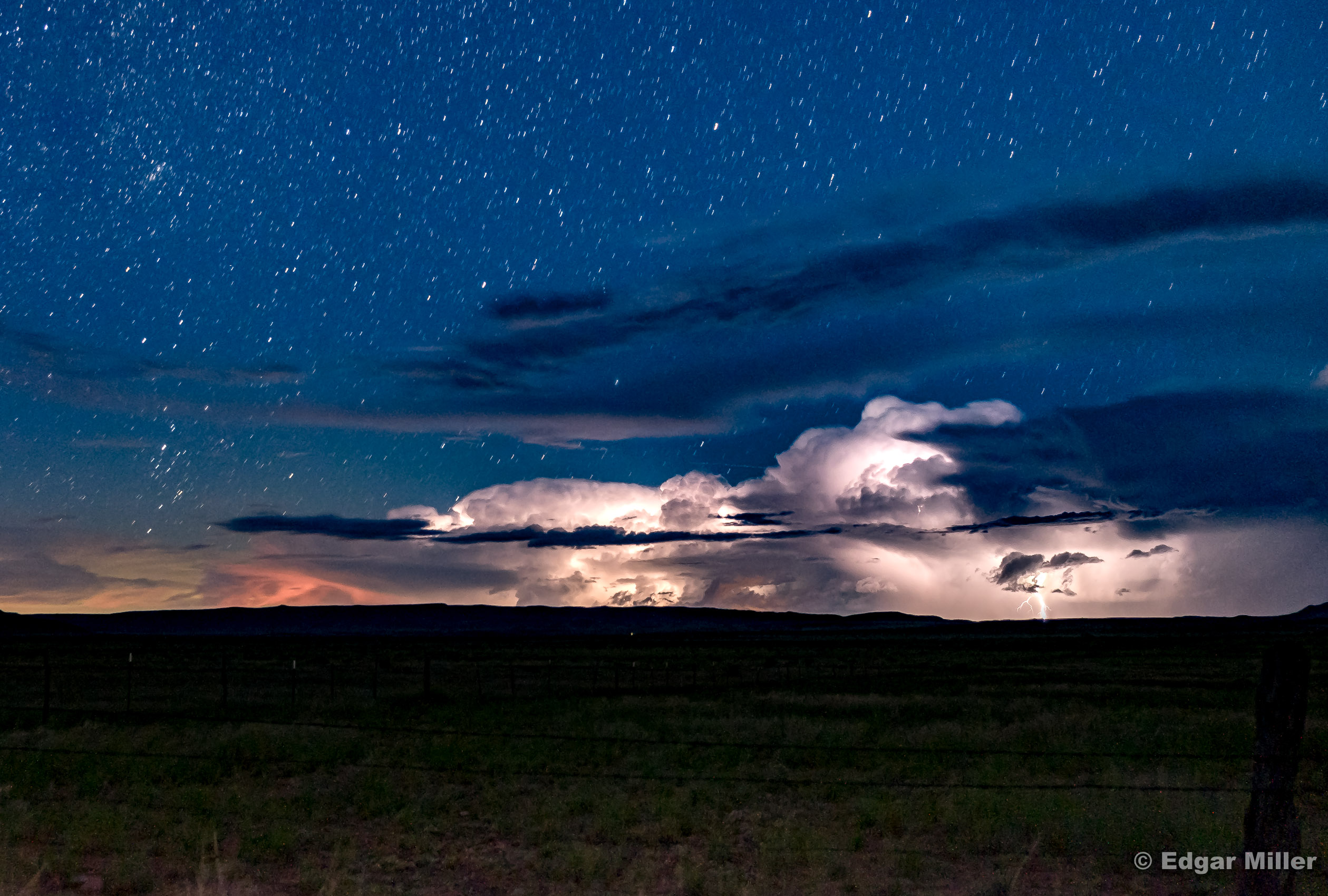 Stars and Lightning, West Texas