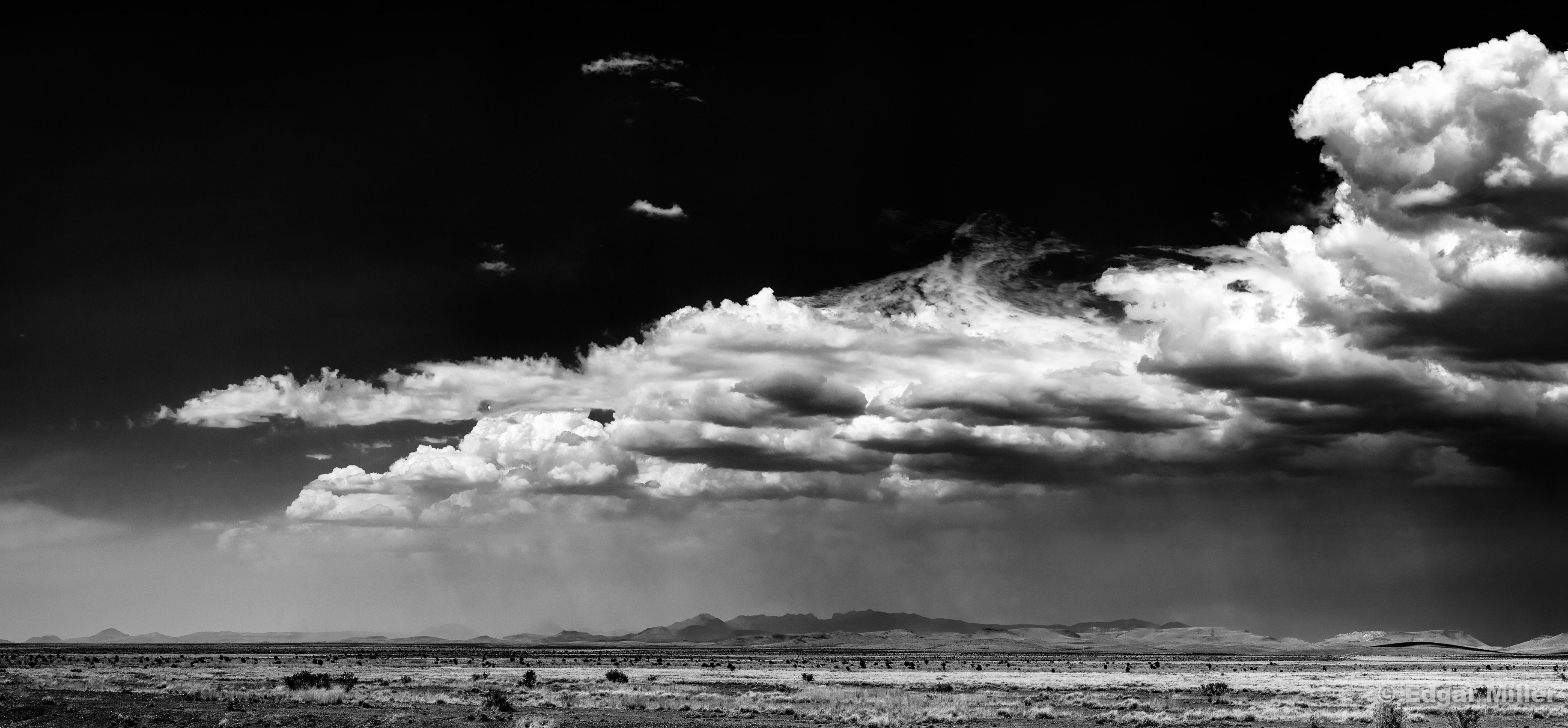 Sky, Clouds & Mountains, West Texas