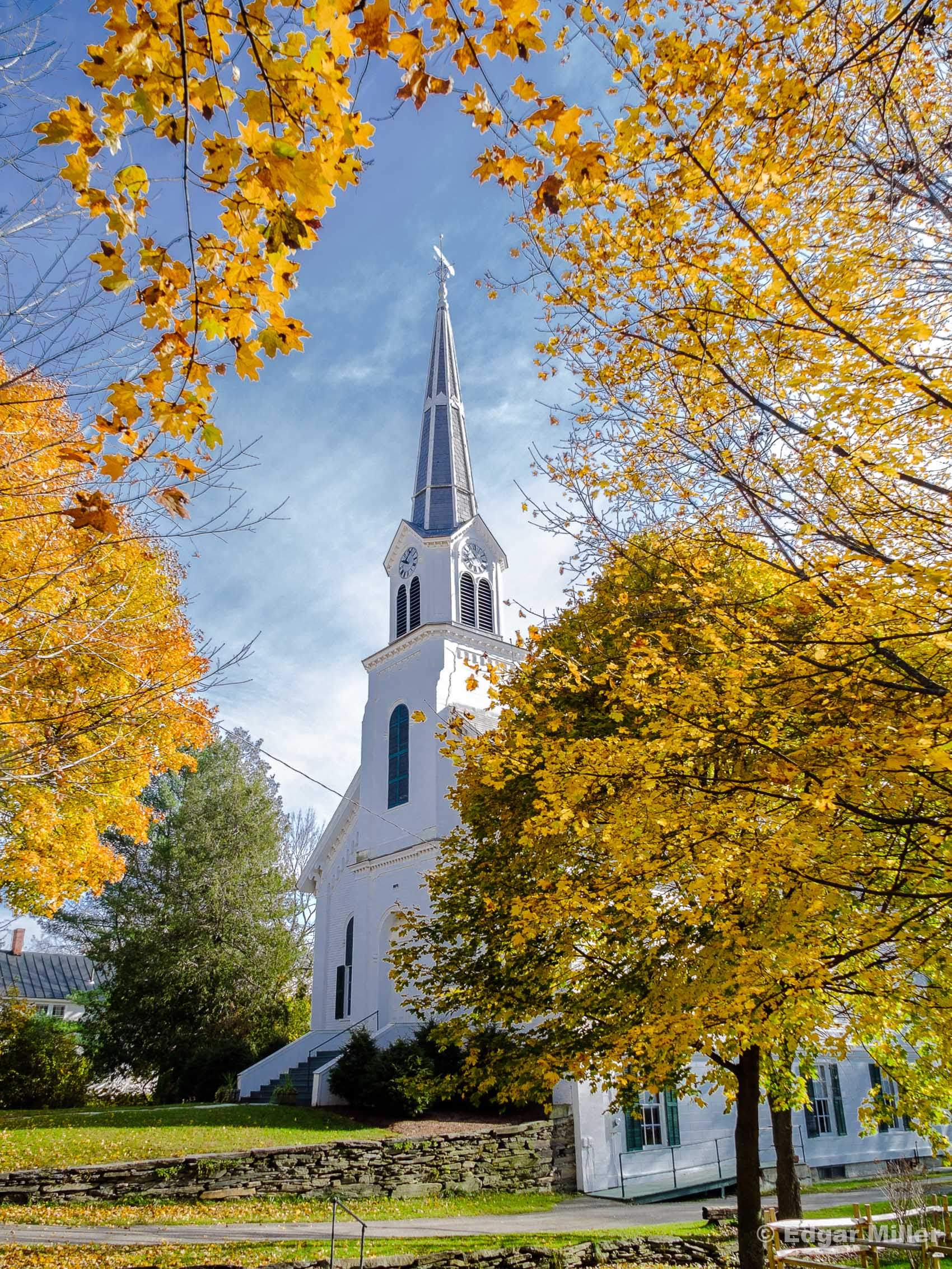 Waitsfield, Vermont Church